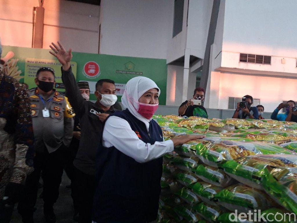 PSBB Surabaya Raya Disetujui Menkes, Khofifah Minta Warga Tak Panic Buying