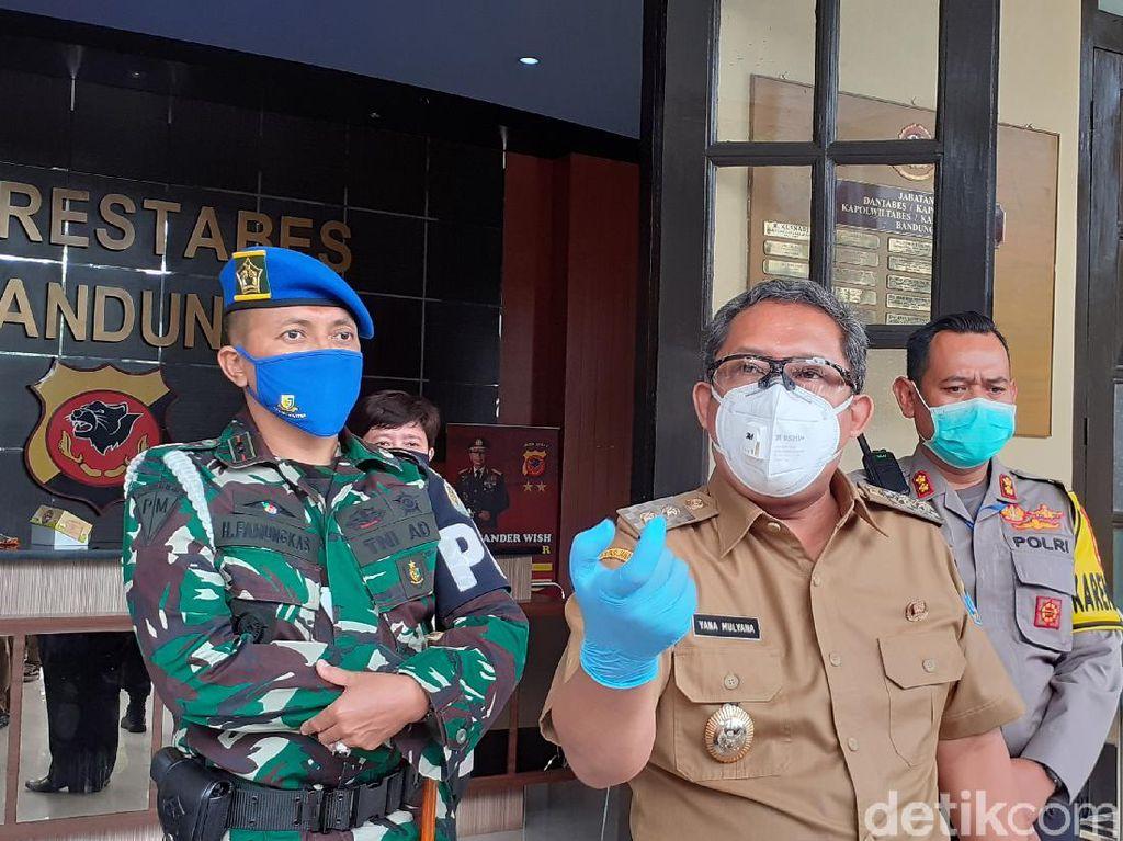 PSBB di Kota Bandung Dimulai Tengah Malam Nanti