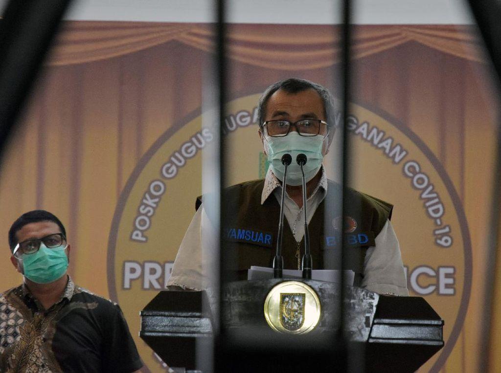 Kasus Corona di Lingkaran Riau-1: Gubernur, Istri, Ajudan, Kadis