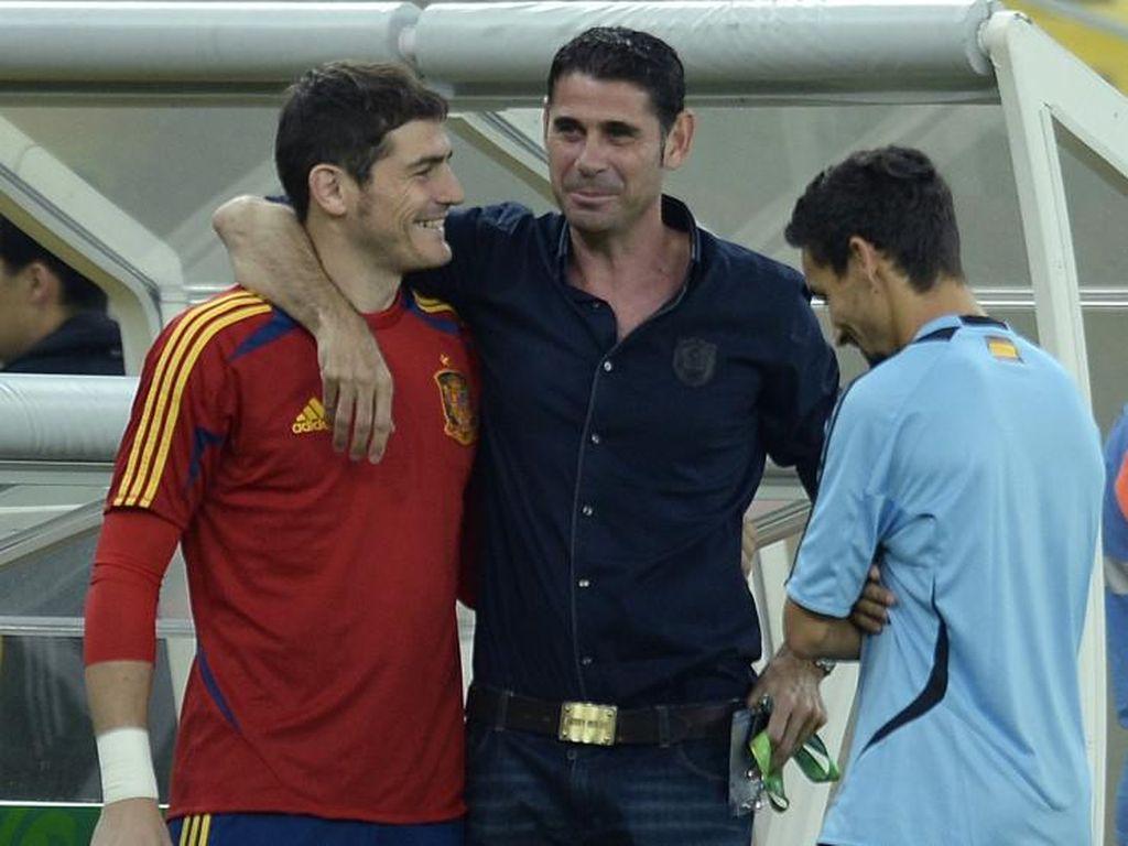 Kisah Iker Casillas Ngutang Rp 500 Ribu ke Fernando Hierro