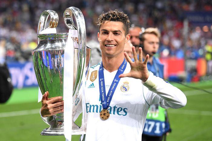 Cristiano Ronaldo Liga Champions