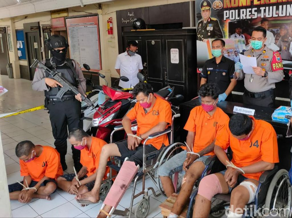 5 Pelaku Curanmor Ditangkap, 2 di Antaranya Napi Bebas Gegara Corona