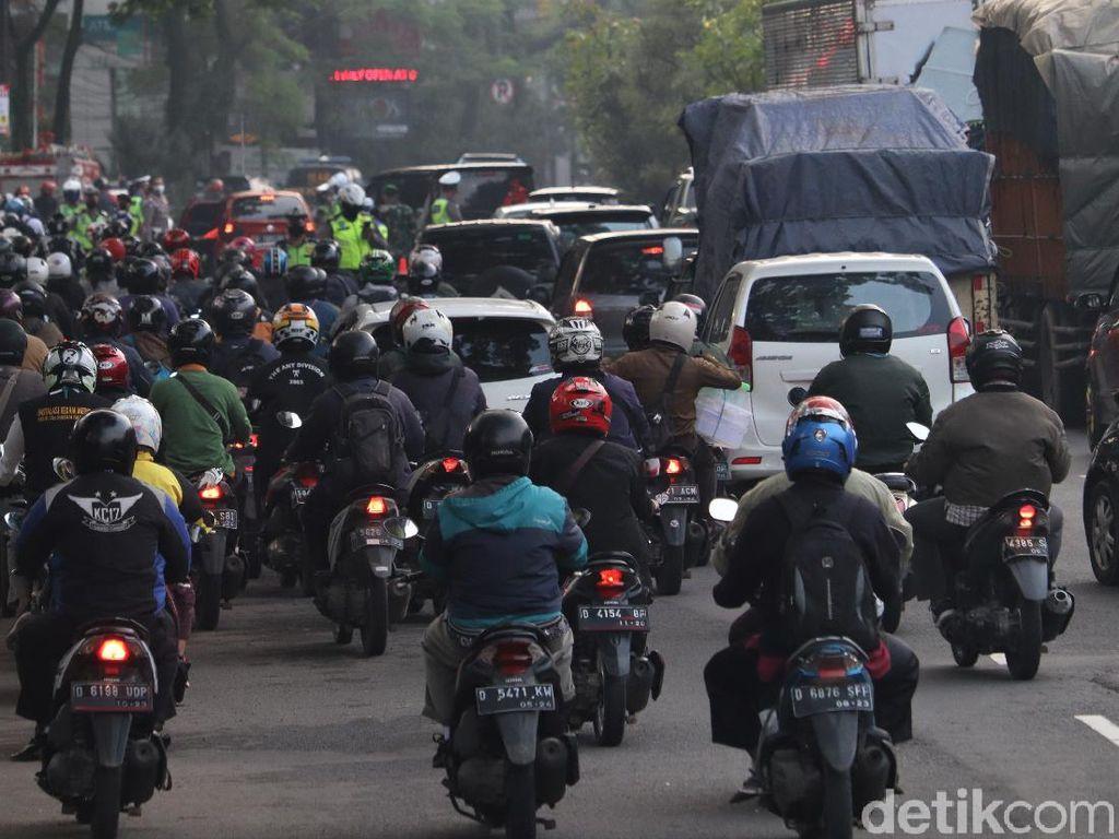 Mudik Dilarang, Polisi Pastikan Tak Ada Penumpukan di Perbatasan Jadetabek