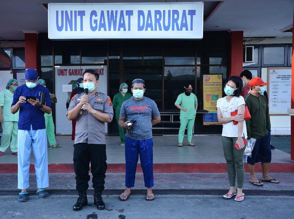 Kabar Baik! 3 Pasien Corona di RS Bhayangkara Jayapura Sembuh
