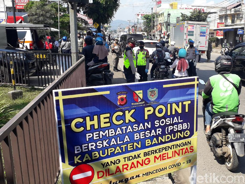 Kapolresta Bandung: Tidak Bawa Surat Keterangan Akan Kita Kembalikan