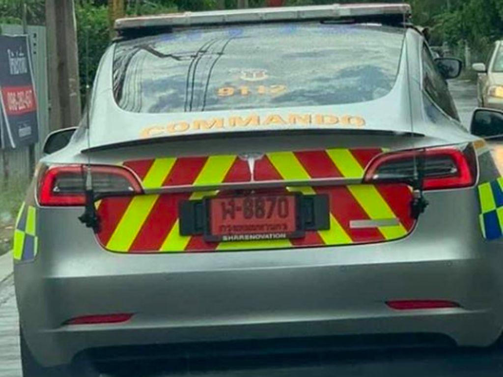 Thailand Sewa 7 Tesla Jadi Kendaraan Polisi, Indonesia Masih Uji Coba