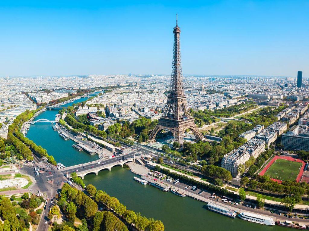 Setelah 3 Bulan Tutup Menara Eiffel Dibuka 25 Juni