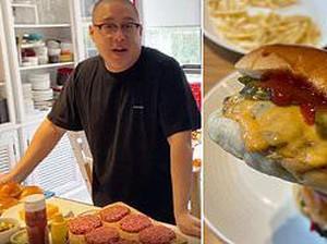 Ini Cara Membuat Cheeseburger ala Resto Fast Food yang Lezat