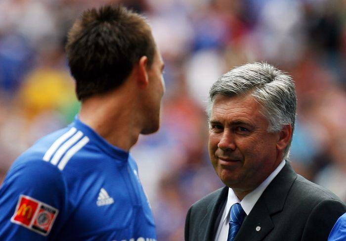 John Terry dan Carlo Ancelotti