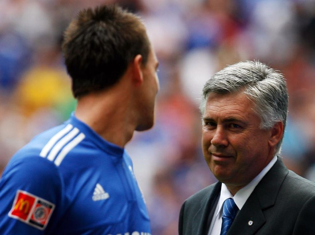 John Terry Lebih Pilih Ancelotti Ketimbang Mourinho?