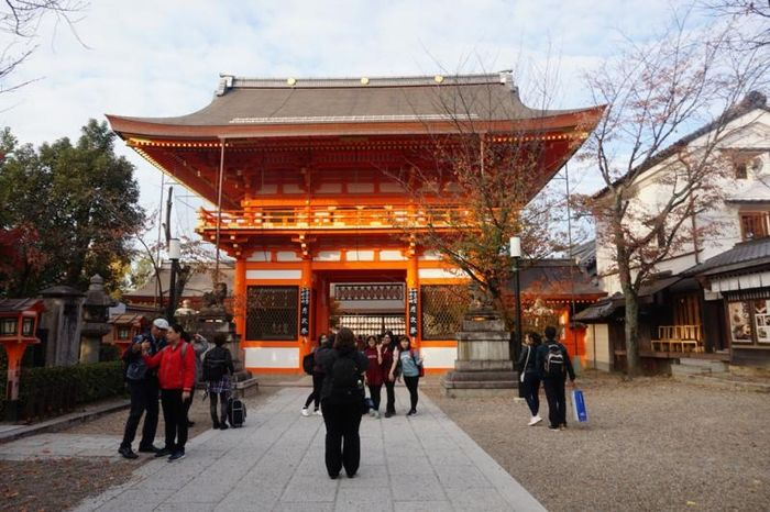 Yasaka Shrine di Kyoto