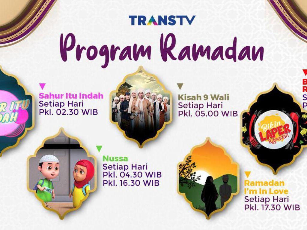 Ramadan di Rumah Aja Ditemani Trans TV