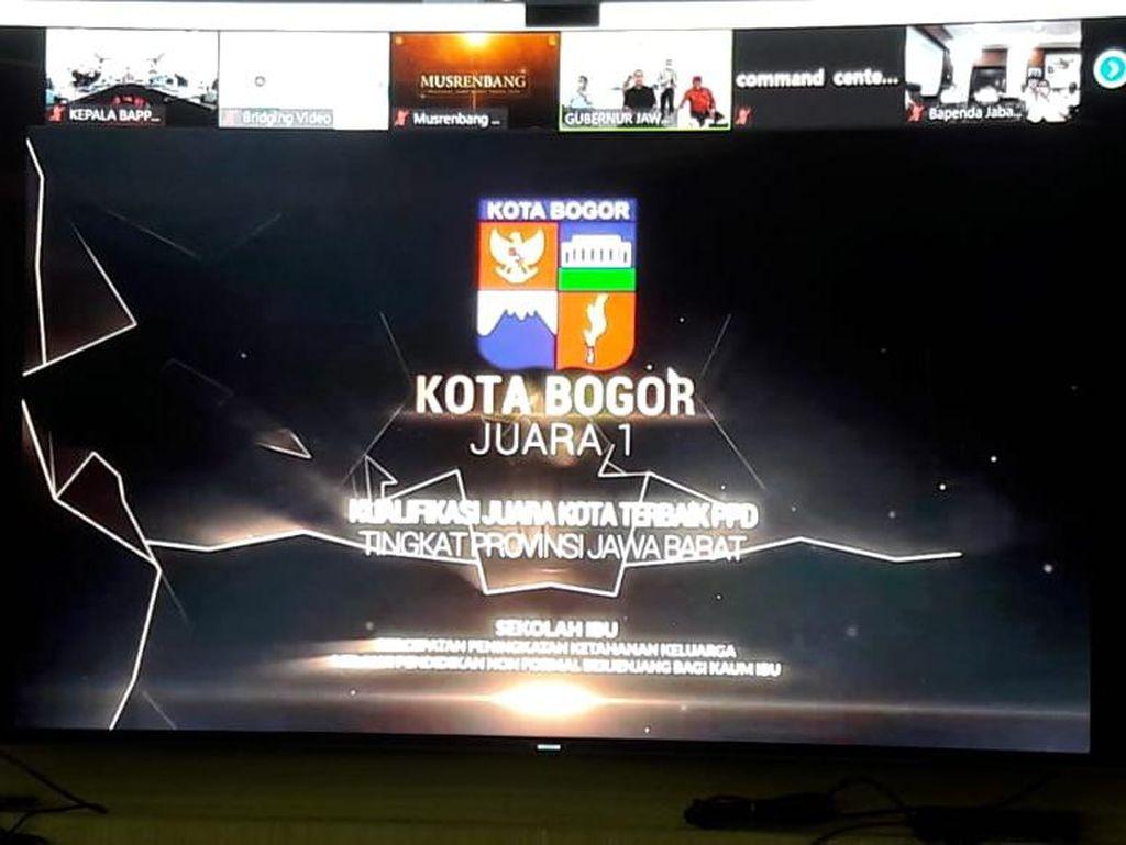 Sekolah Ibu di Kota Bogor Raih Juara 1 Perencanaan Pembangunan Daerah