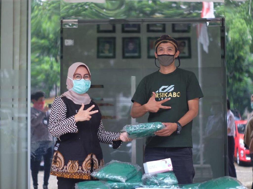 Aksi Tira Persikabo Lawan Pandemi Virus Corona