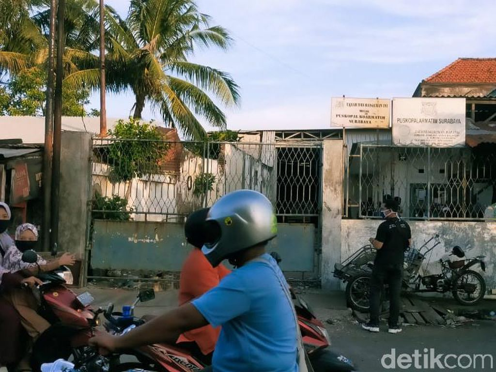 Gudang Tempat Terduga Teroris Ditangkap Sering Jadi Tempat Pengajian