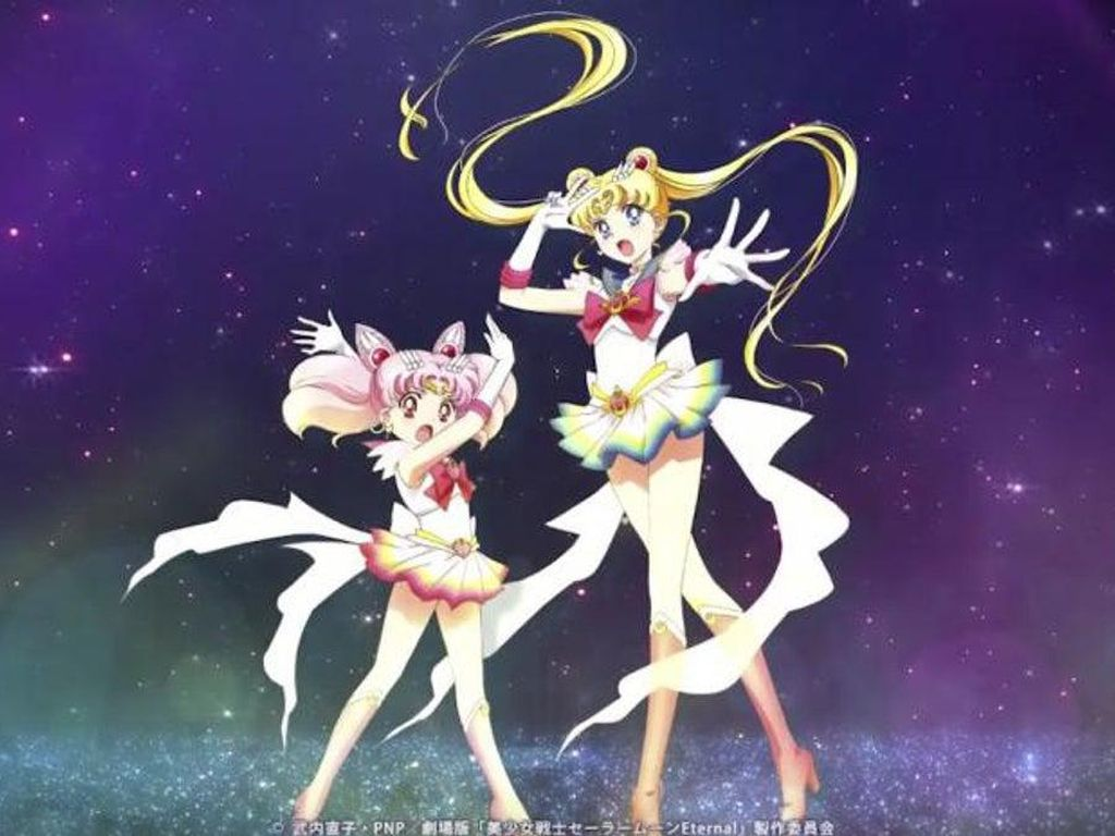 Hore! Serial Anime Sailor Moon Dirilis Gratis