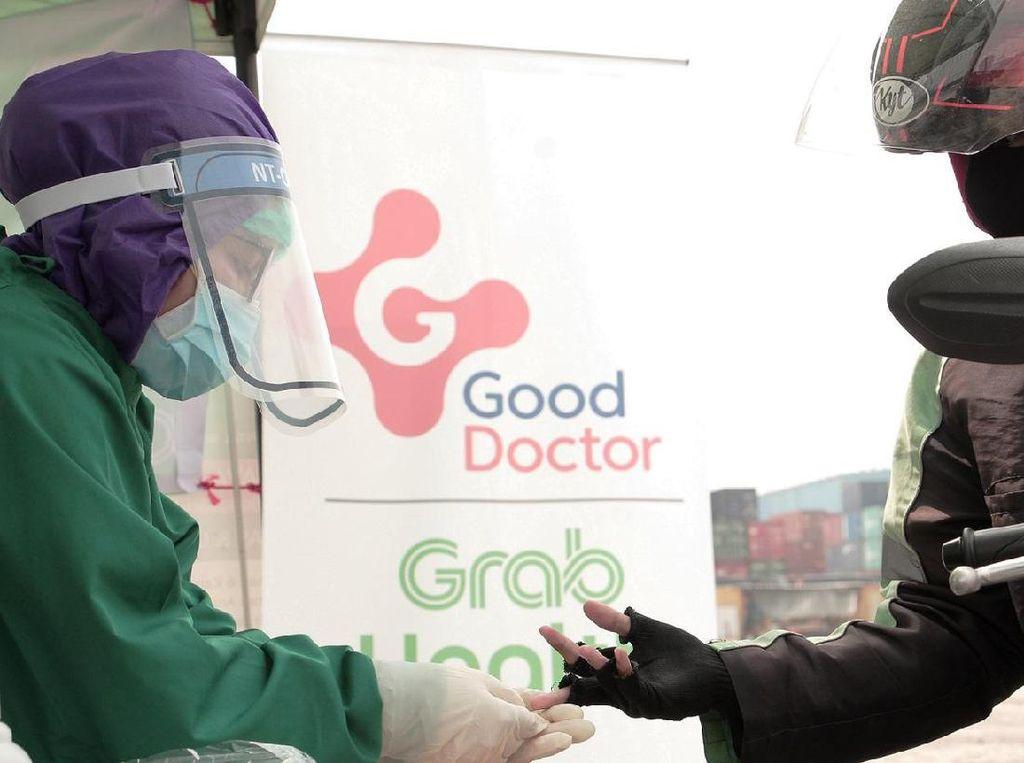 Grab dan Good Doctor Perbanyak Tes COVID-19 Gratis di 9 Kota