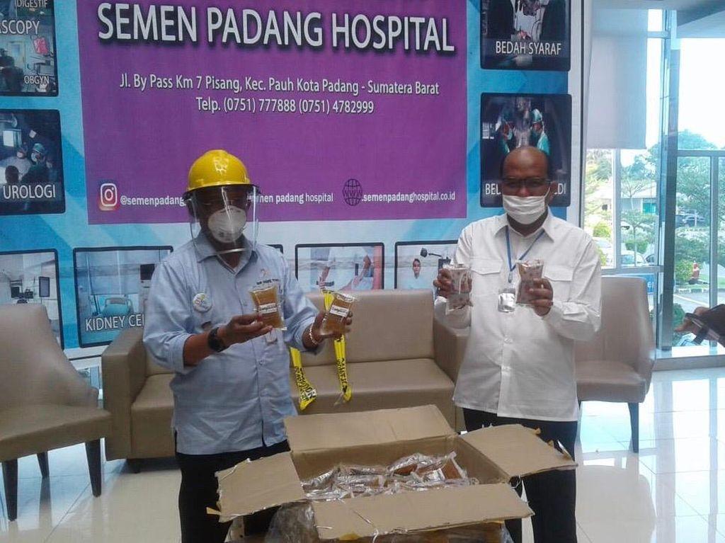 RS Sumbar Terima Obat Herbal yang Diklaim Pimpinan DPR Dasco Sembuhkan Corona