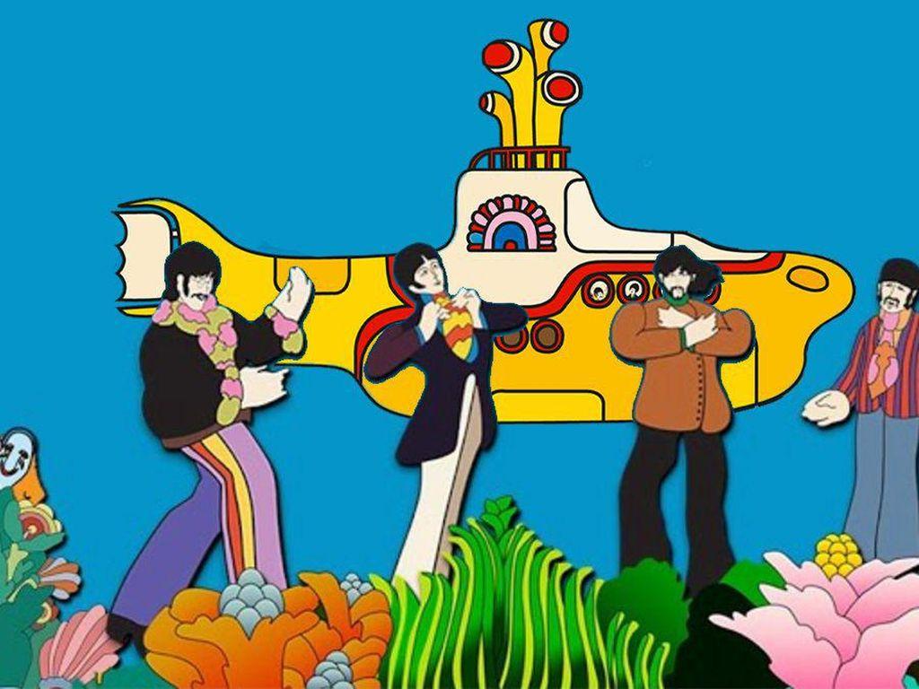 Catat! Ini Tanggal Film Yellow Submarine The Beatles Tayang Gratis di YouTube