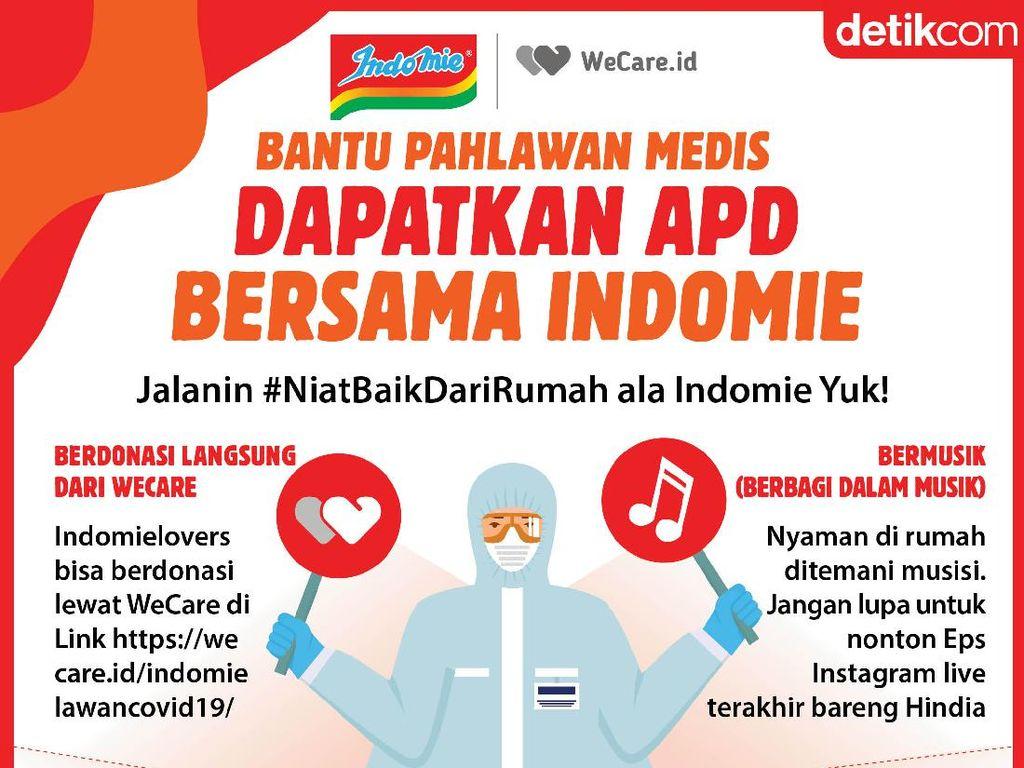 #NyamanDiRumah dan Bantu Pahlawan Medis Dapatkan APD, Ini Caranya!
