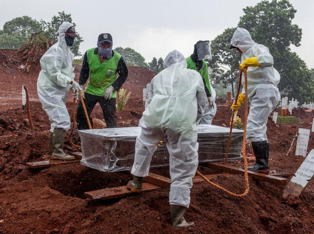 Rekor 346 Kematian, Kasus Corona di Indonesia 21 Januari Tambah 11.703
