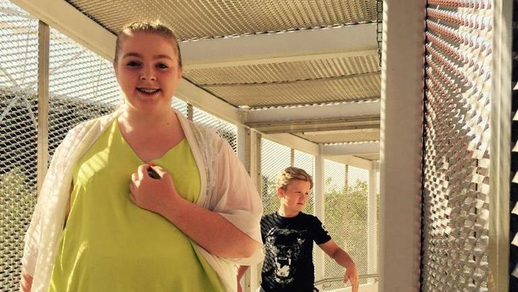 Foto: Transformasi Gadis Remaja yang Dulu Beratnya 114 Kg Ini Bikin Takjub
