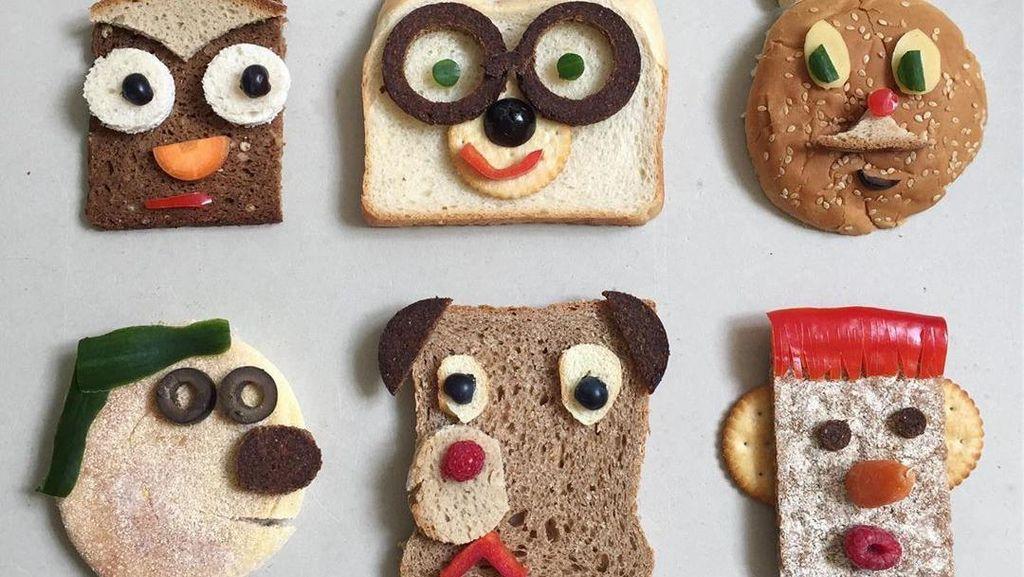 10 Roti Tawar Bentuk Wajah Binatang yang Bikin Gemas!