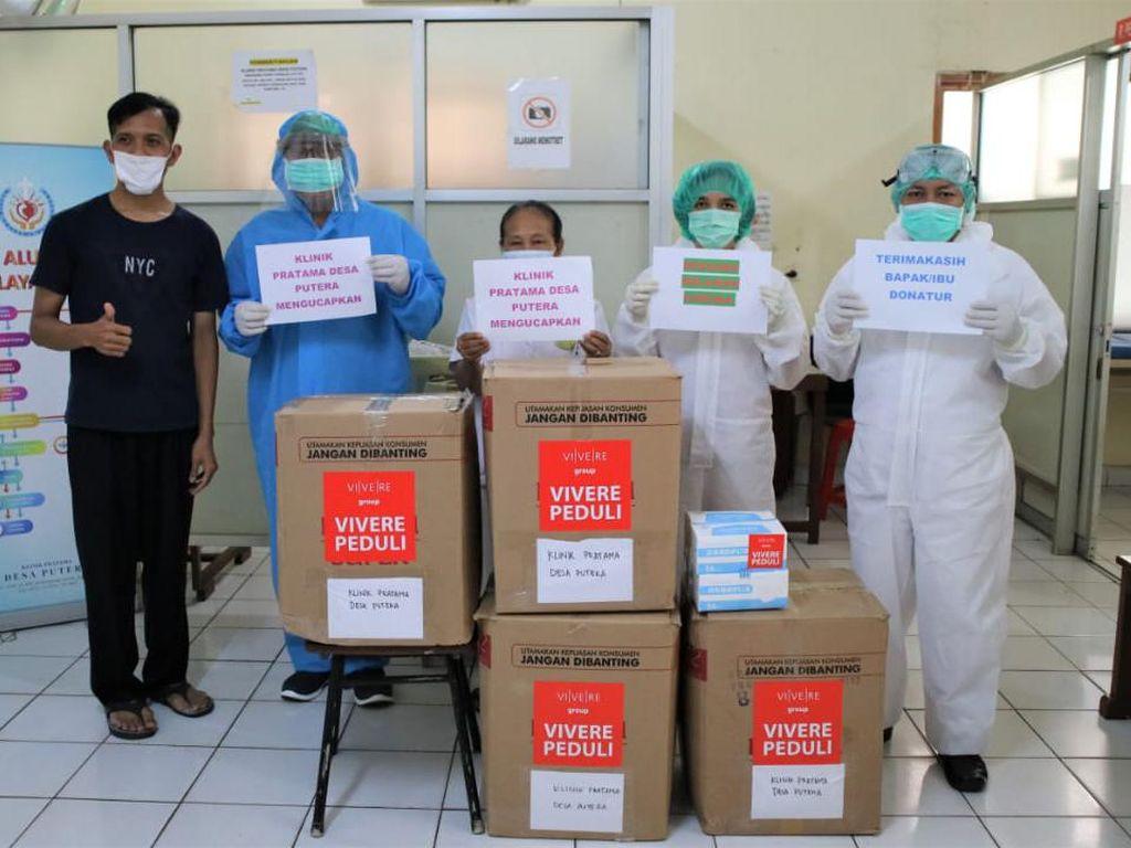 Yayasan Pendidikan VIVERE Salurkan APD Medis ke Puskesmas dan Klinik