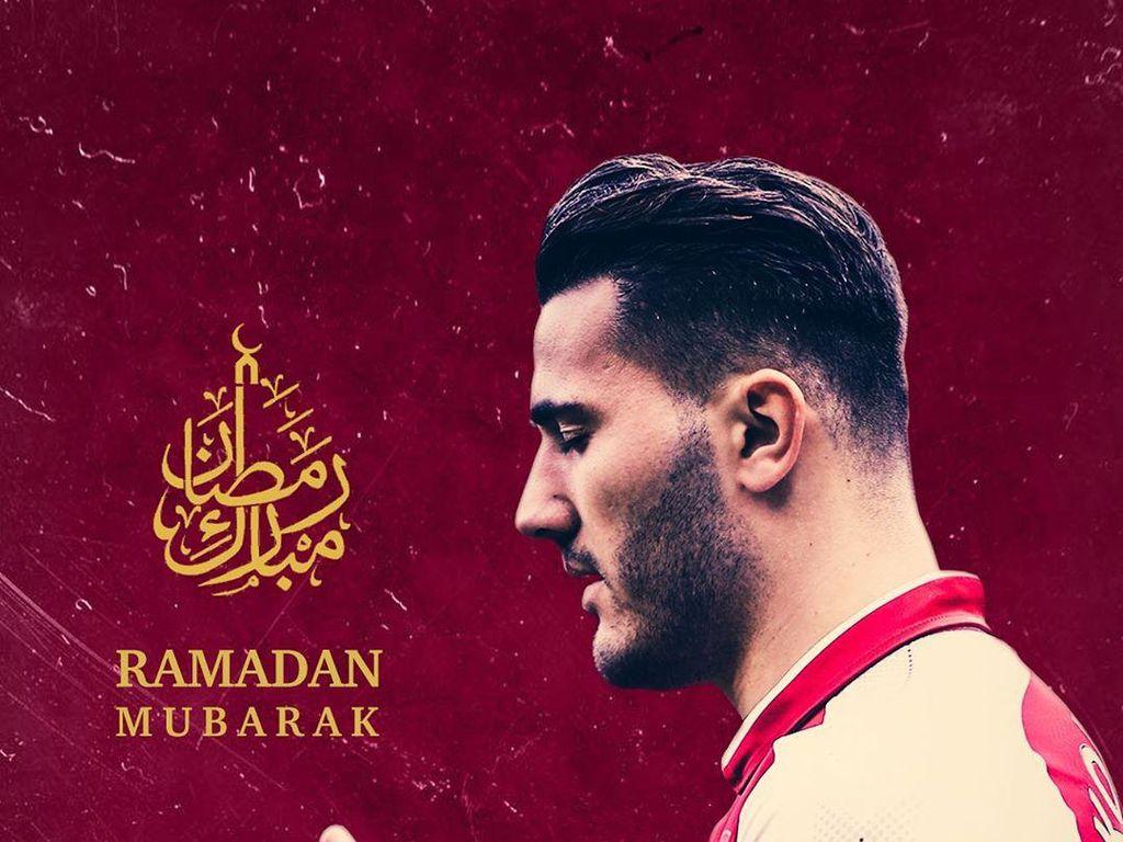 Tiga Pemain Arsenal Sambut Datangnya Bulan Ramadhan