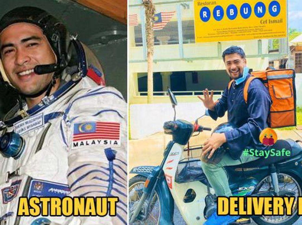 Cerita Astronot Pertama di Malaysia yang Kini Jadi Kurir Antar Makanan