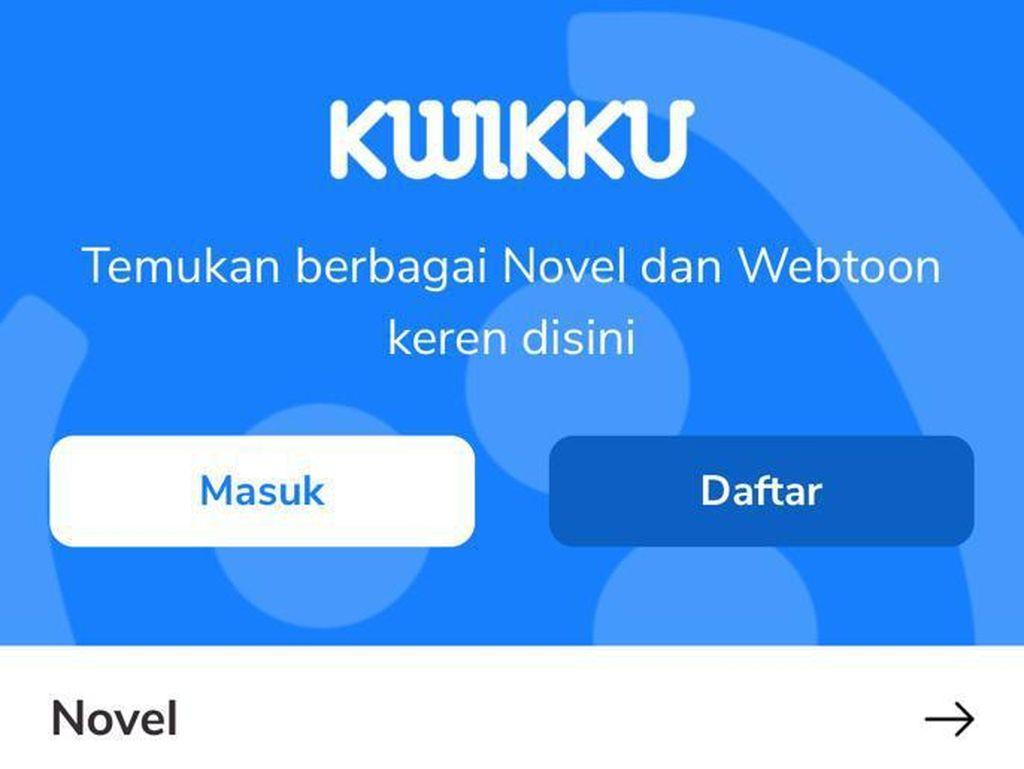 Platform Digital Kwikku Resmi Rilis untuk Pembaca Novel dan Webtoon