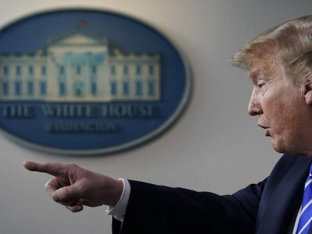 Trump Klaim Cegah Corona dengan Konsumsi Hydroxychloroquine Setiap Hari