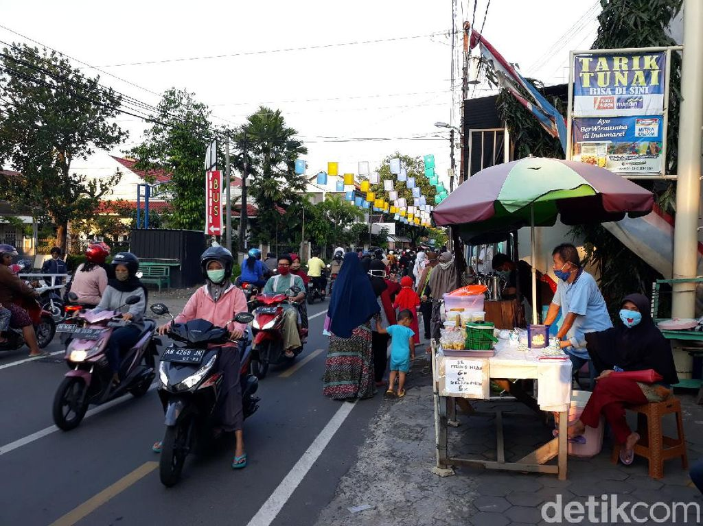Ramadhan di Tengah Pandemi, Jalan Jogokariyan Yogya Sepi Penjual Takjil