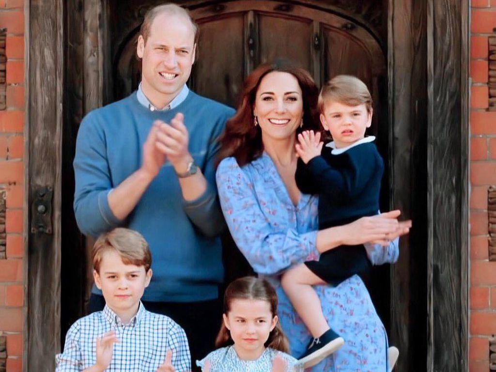 Pangeran William Ultah ke-38, Kate Middleton Unggah Foto Menggemaskan