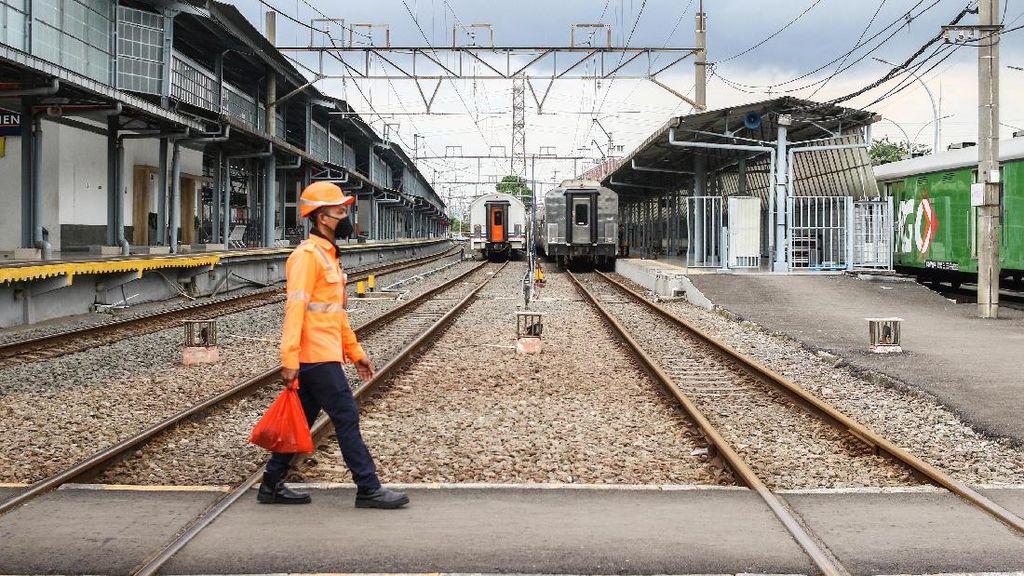 Stasiun Pasar Senen Tidak Melayani Kereta Jarak Jauh