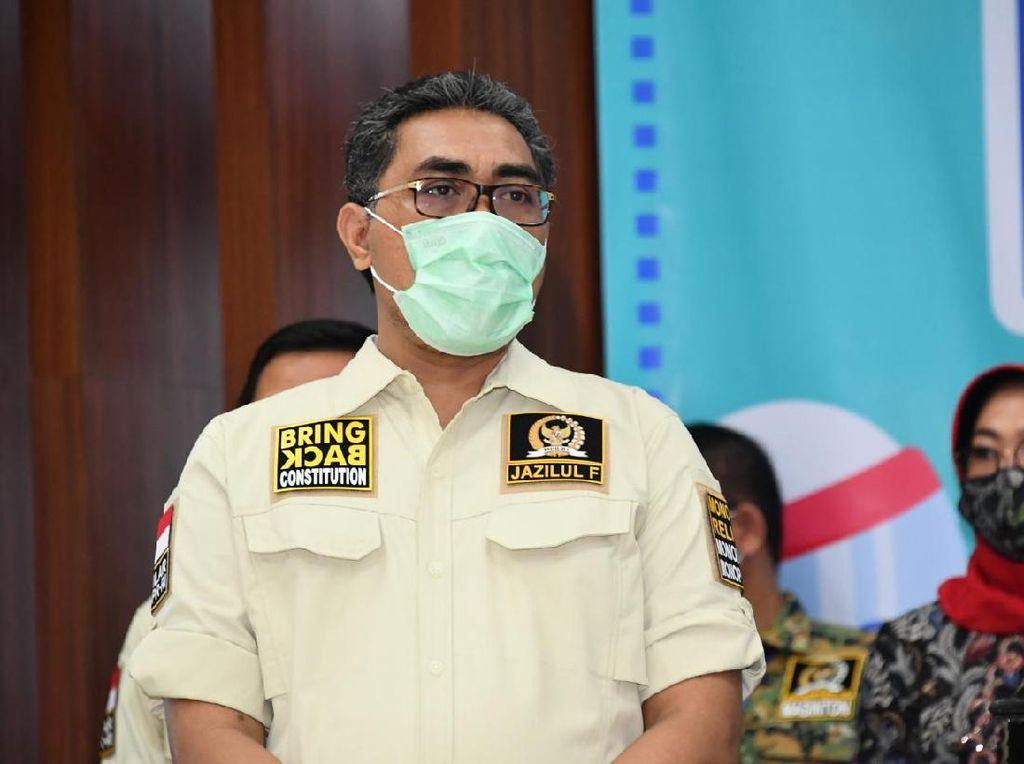 Wakil Ketua MPR: Tarawih dan Tadarus di Rumah Masing-masing