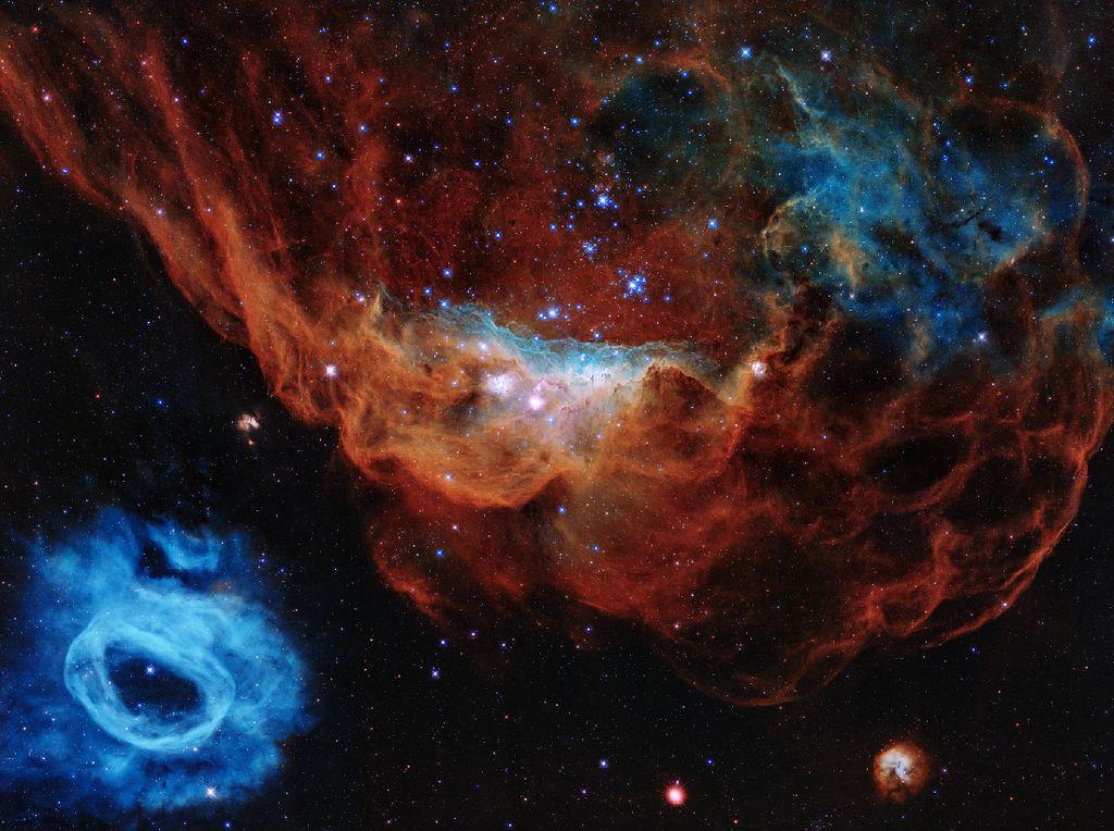 Teleskop Hubble Rayakan Ultah ke-30 dengan Foto Mengagumkan