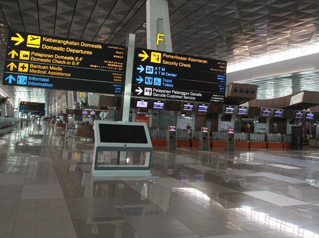 Penerbangan Repatriasi WNI Melonjak, Bandara Soetta Ketatkan Protokol Corona