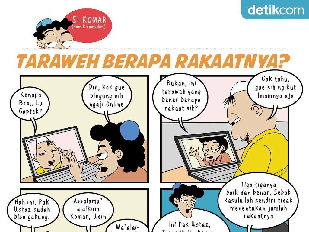 detikers, Komar Tanya Nih Sholat Tarawih Berapa Rakaat ya?
