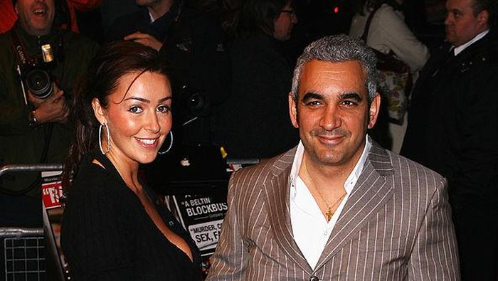LONDON - FEBRUARY 18:  Actor Alki David and guest arrive at the The Bank Job world premiere at the Odeon West End on February 18, 2008 in London, England.  (Photo by Gareth Cattermole/Getty Images)