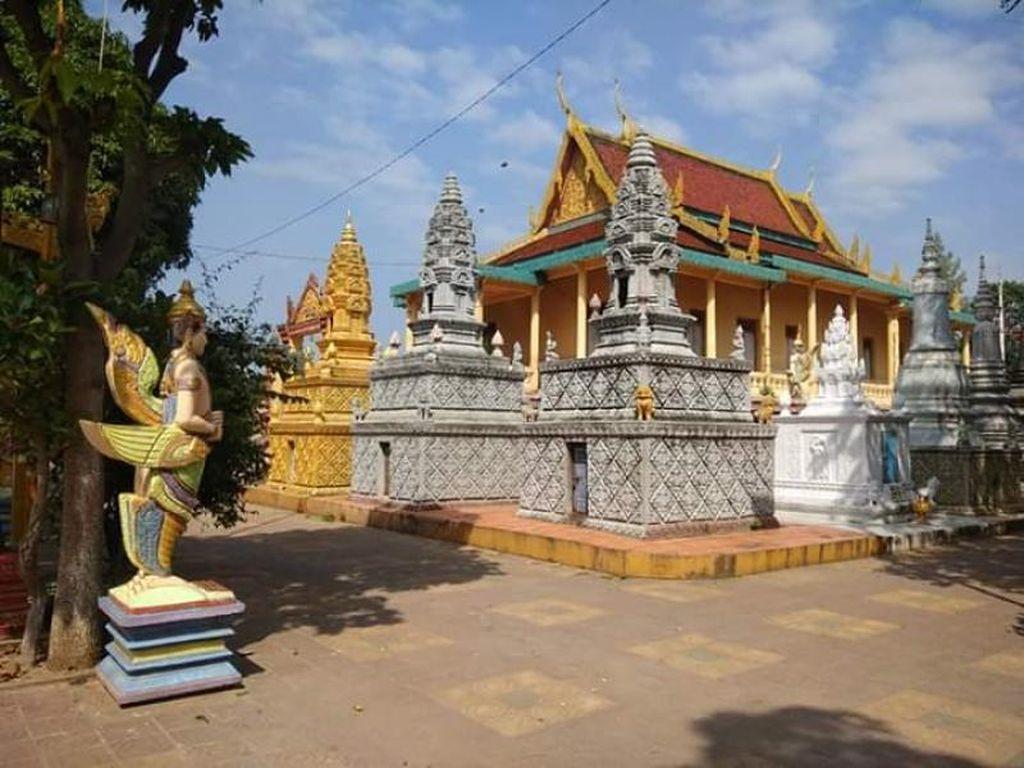 Suasana Tenang di Temple Kera Phnom Penh