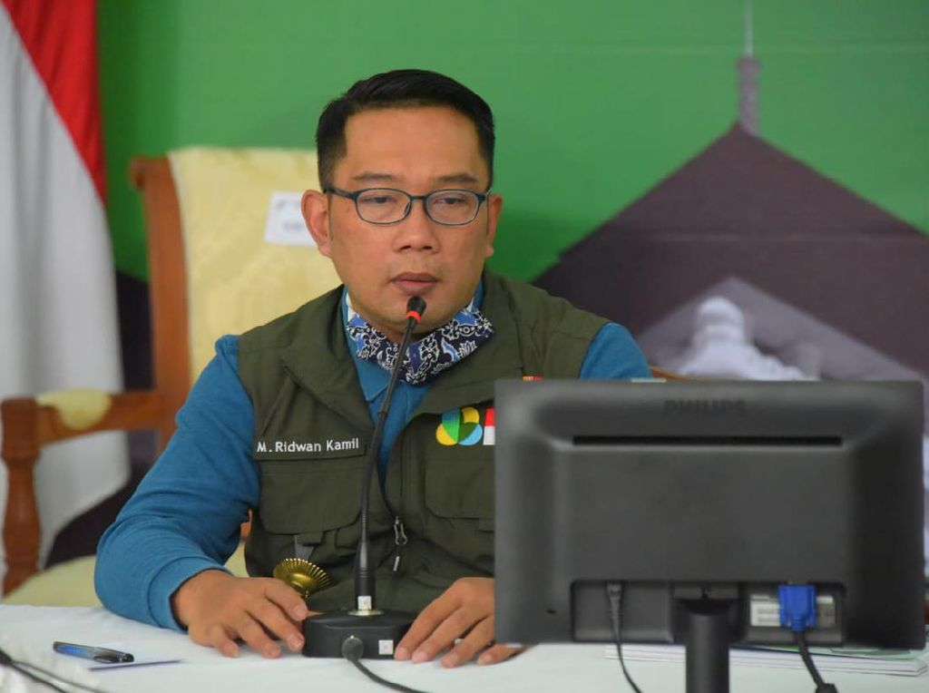 Ridwan Kamil Nilai PPKM Turunkan Okupansi RS-Zona Merah Corona di Jabar