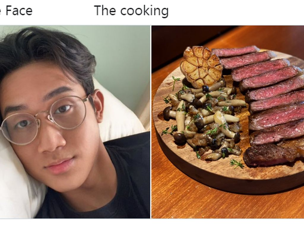 Tantangan The Face and The Cooking Sandingkan Wajah dan Masakan Netizen