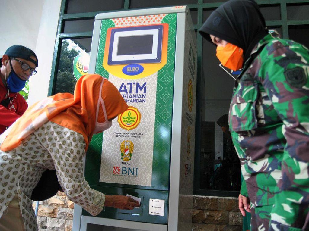 ATM Beras Sudah Salurkan 155 Ton Beras Gratis