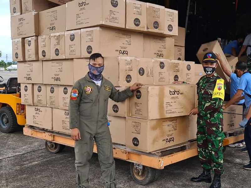 RI Sisa 334.600 APD di Gudang Logistik, Stok Aman?