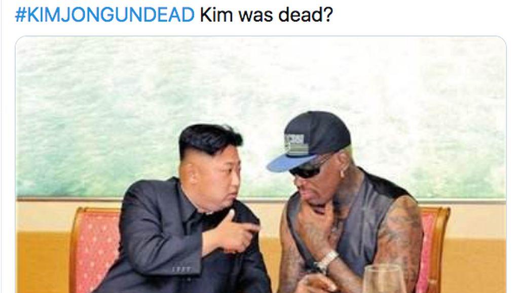 Kim Jong Un Meninggal Masih Isu, Tapi Memenya Ramai
