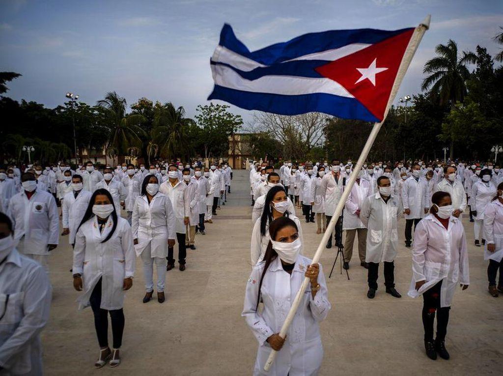 Kedutaan Kuba di AS Diserang Rentetan Tembakan