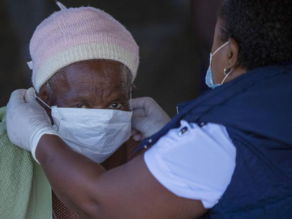 Badai Pandemi Corona, Afrika Selatan Kini Tertinggi Kelima di Dunia