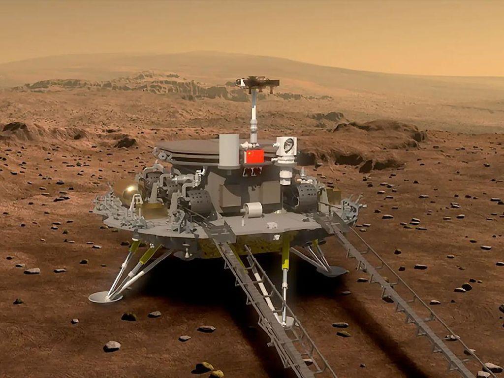 China Ungkap Nama dan Logo untuk Misi Eksplorasi Mars