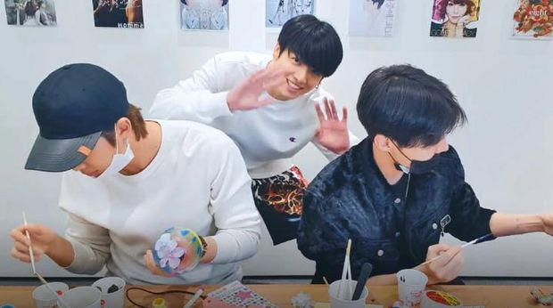 Jungkook BTS, RM, dan J-Hope